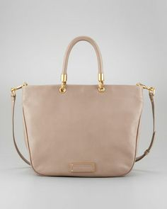 Too Hot to Handle Mini Tote Bag, Tan by MARC by Marc Jacobs at Neiman Marcus.