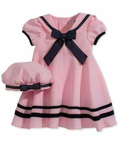 Baby Girl Clothes at Macy's come in a variety of styles and sizes. Shop Baby Girl Clothing at Macy's and find newborn girl clothes, toddler girl clothes, baby dresses and more. Little Girl Outfits, Little Girl Fashion, Kids Fashion, Cute Outfits, Baby Girl Dresses, Baby Dress, Baby Girls, Toddler Dress, Toddler Outfits