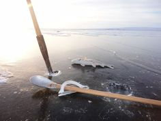 Ice fishing, photo byNanauq Paun