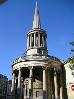 All Souls Church - Regent Street. I assisted with the paint specification - http://patrickbaty.co.uk/?p=5174