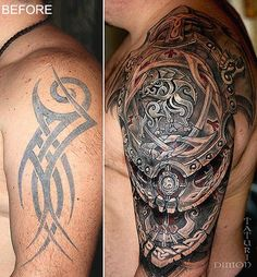 Browse Worlds Largest Tattoo Image Gallery Best Sleeve Tattoos, Sleeve Tattoos For Women, Tattoos For Women Small, Leg Tattoos, Body Art Tattoos, Tribal Tattoos, Maori Tattoos, Modern Tattoos, Trendy Tattoos