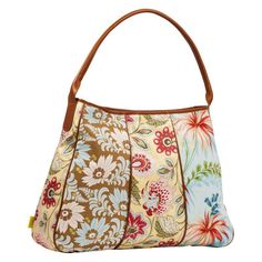 Amy Butler for Kalencom Opal Fashion Tote Bag - Deco Blooms, Women's - AB101DECOBLOOM