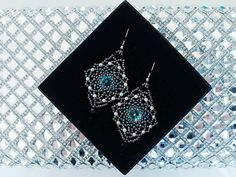 Check out this item in my Etsy shop https://www.etsy.com/listing/594239006/big-openwork-earringselegant-blue