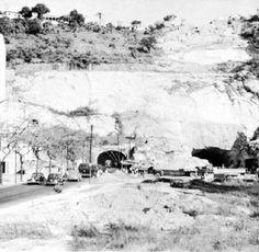 Túnel do Pasmado Novo, entre Copacabana e Botafogo em 1940