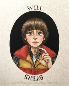 - Stranger Things Will Byers by Melody Howe, theimaginativeillustrator, Noah Schnapp, Season fanart, fan art Stranger Things Tumblr, Stranger Things Characters, Eleven Stranger Things, Stranger Things Season, Stranger Things Netflix, Kawaii 365, Will Byers, Cute Wallpapers, Sketches