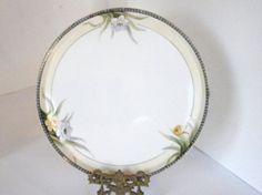 Antique Noritake Large 12 Porcelain Plate Rare M от oldandnew8, $18.00