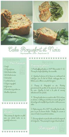 Les Gourmandises de Jelly: ♥ 043 • Cake au Roquefort ♥