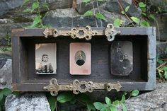 Victorian Tintype Box by reclaimedhome on Etsy, $65.00