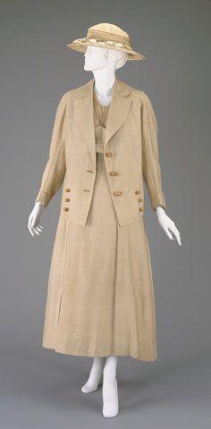 Suit, 1914-1917, via The Cincinnati Museum of Art.