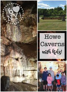 We recently ventured underground to take a tour of a cave! Howe Caverns, located about 40 minutes outside of Albany, is New York's most visited natural attraction after Niagara Falls- and it is perfect for a family road trip! Road Trip With Kids, Family Road Trips, Camping With Kids, Travel With Kids, Family Travel, Great Places, Places To Go, Niagara Falls Ny, Vacation Spots