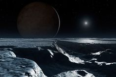 pluto seen from charon 2015 Dark Planet, Extra Terrestrial, Tear Down, Close Image, Astronomy, Planets, Survival, Waves, Outdoor