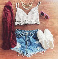 d9bcc6f1dd9d9 Summer Womens Sexy Crochet Knit Crop Top Halter Bra Bralette Deep V neck  Blouse-in