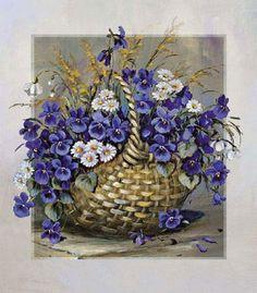 Gallery.ru / Фото #122 - Цветы и букеты 101 (фиалки, анютины глазки) - shennon