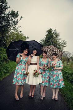 floral bridesmaid dress, so special
