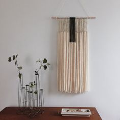 Yarn Tapestry by Ninelles on Etsy