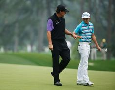 #PhilMickelson #RickieFowler ESPN: The Worldwide Leader in Sports Phil Mickelson Rickie Fowler #TheMasters 2015 #pinemeadowgolf.com