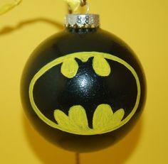 Knitting Kit: Batman Christmas Ornament by LexiCorp on Etsy ...