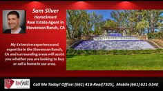 4 bed 3 bath Homes for sale in Stevenson Ranch CA 91381 Sam Silver 661.621.5340  https://gp1pro.com/USA/CA/Los_Angeles/Stevenson_Ranch/Summerset/25408_Hardy_Pl.html  Call, Text, or email Sam Silver at (661)621-5340 SamSilverHomes@gmail.com HomeSmart real estate CalBRE01412755-Come see this beautiful Stevenson Ranch view home with pool, spa, waterfall & built-in BBQ. The two story home spans 2654 square feet with 4 bedrooms and 3 bathrooms, one of each downstairs. Gated courtyard entrance…