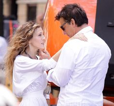 Carrie and Mr. Big. . . .