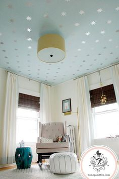 how to make your ceiling look lower
