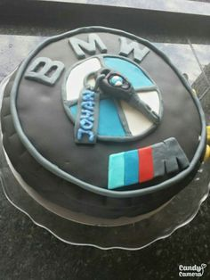 Made by Wan. BMW Birthday cake