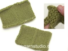 How to sew invisible grafting / kitchener stitch in the cast off edge from wrong side Knitting Patterns Free, Free Knitting, Free Pattern, Crochet Patterns, Drops Design, Cast Off, It Cast, Laine Drops, Garnstudio Drops