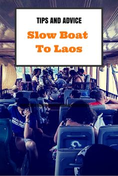 First hand tips and advice for taking the slow boat to Laos from Thailand. Everything you need to know to make your journey go smoothly. #thailand #laos #slowboat #traveltips