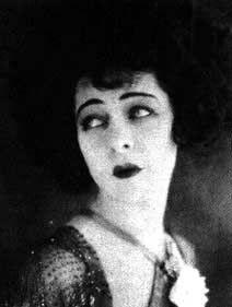 Alla Nazimova - original goth