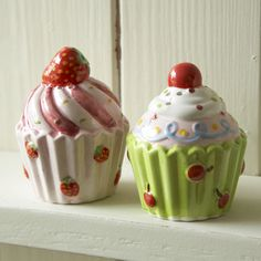 Cupcake Salt & Pepper Set