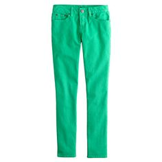Ankle stretch toothpick jean in garment-dyed twill