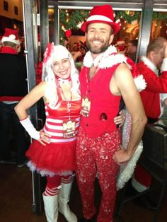 Santa pub crawl 2012  sc 1 st  Pinterest & 19 best Santa pub crawl outfit ideas images on Pinterest | Christmas ...