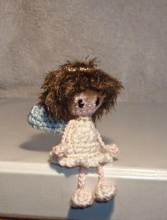Amigurumi Haaksels: Mini bungel engeltje Crochet Tree, Crochet Angels, Crochet Gifts, Diy Crochet, Crochet Winter, Holiday Crochet, Christmas Crochet Patterns, Christmas Knitting, Crochet Amigurumi