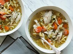 Get Instant Pot Chicken Noodle Soup Recipe from Food Network