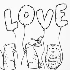 Love. Day 114 of yearlong sketchbook project. Cassie Loizeaux