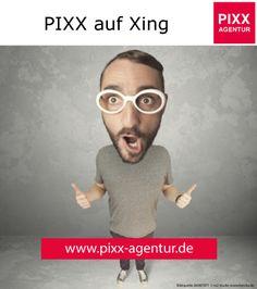Wir sind auch auf Xing vertreten!  Folgen Sie uns:  www.xing.com/profile/Elena_Sumischewskaja PIXX Agentur Kontaktdaten: Web: www.pixx-agentur.de Mail: info@pixx-agentur.de Tel: 0721-5307532