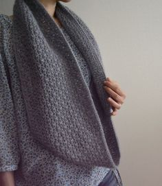 Cupido Cowl by roko20, via Flickr. Free pattern on ravelry... Love the stitch pattern!