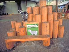 For African goats could be a good opportunity to use their climbing skills