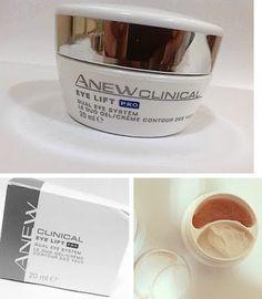ريفيو كريم وجل العيون Anew Clinical من Avon Glassware Blog Tableware