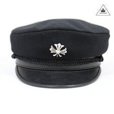 46b3c038b48 CH Stabbin Captain s Hat. Crown Forever. Chrome HeartsSilver ...