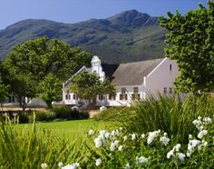 Franschoek, South Africa Country Cottage Living, Country Life, Wine Country, Beautiful World, Beautiful Homes, Beautiful Places, Beautiful Scenery, Dutch Gable Roof, South African Wine