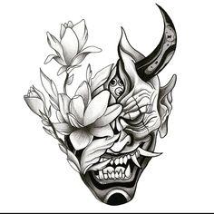Снаружи демон😈 А внутри цветочек 🌼 #tattoosketch #sketch #tattoodesigns #tattoos #tattoolife #tattoostudio #тату #татуировки #эскизытатуировок #эскизы #эскизытату #blacktattoo #blackwhite #sketching #sketchtattoo #sketchbook #sketching #sketches #sketchup #sketchart  #чернобелое #partak #партак #tattooart #tattoo #tattooist #tattooing #tattooed Forarm Tattoos, Skull Tattoos, Leg Tattoos, Body Art Tattoos, Sleeve Tattoos, Tattoo Studio, Japanese Tattoo Designs, Japanese Tattoo Art, Tattoo Design Drawings