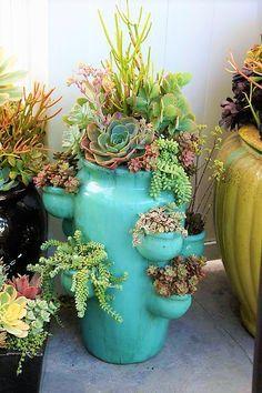 19 Really Amazing Ideas Of Repurposed Succulent Planters