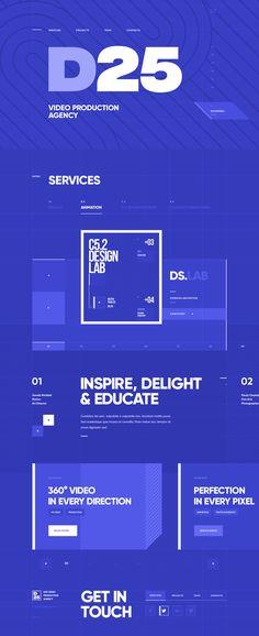 Websites & Grids / Various works on Behance Modern Web Design, Creative Web Design, New York Projects, Web Studio, Ui Web, Landing Page Design, Type Setting, Design Lab, Web Design Inspiration