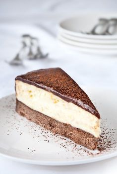 Cheesecake cu ciocolata si portocale - www.Foodstory.ro