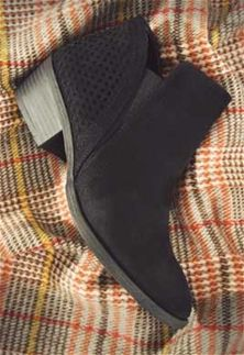 17bfd0b29b6763 Mia+Shoes+Thea-n+Perforated+Heel+Slip-On+Ankle+Booties+in+Black+GG3201N-BLK