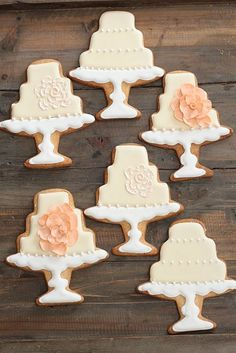 Charming cake cookies, via Flickr