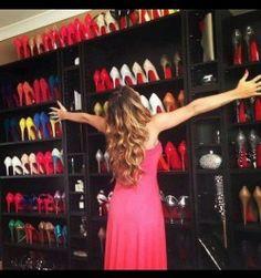 A Fab Shoe Closet