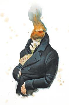 "New illustrated book ""Mansfield Park"" Jane Austen on Behance"