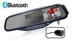 Полноценный автомобильный мультимедийный центр.  Автомобильное зеркало Merlin Bluetooth Premium объединяет комплект громкой связи Bluetooth, систему парковки автомобиля и MP3-плеер.   http://merlin-digital.com.ua/merlin-bluetooth-car-mirror-premium.html