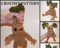 Elf  Crochet PATTERN  Hobby the House Elf   Doll NOT Included